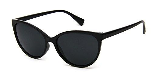 Cat Eye Fashion Designer Sunglasses For - Designer Black