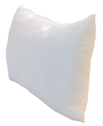 Pillowflex Indoor/Outdoor Non-woven Pillow Form Insert for Shams or Decorative Pillow Covers (12 Inch By 16 Inch) ()