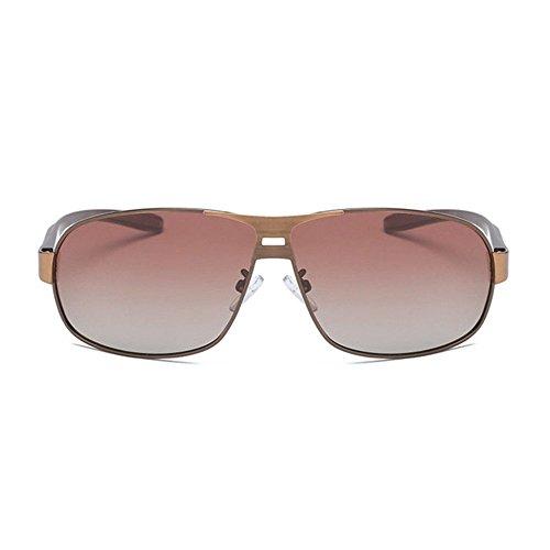 Gafas Shing F Sol de de Color Regalos clásicas Doble creativos Sol Cepillado Axiba polarizadas Hombre Gafas gW7FBF