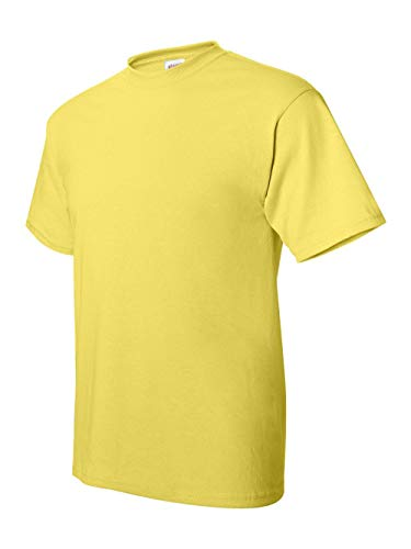 Hanes TAGLESS T-Shirt, Large, Ye
