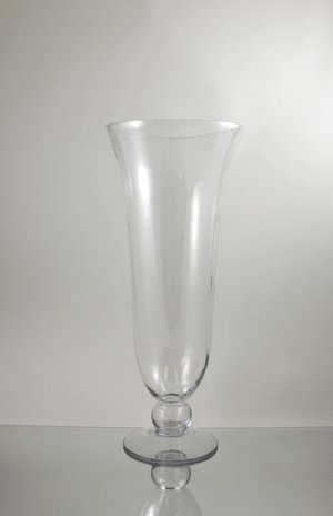 Amazon Wgvi Clear Tall Large Unique Flared Hurricane Glass