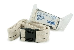 McKesson Gait Belt - White, Metal Buckle - 64863000