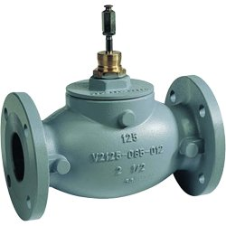 2-1/2 in. 2-Way Flanged Globe Valve from Honeywell, Inc.