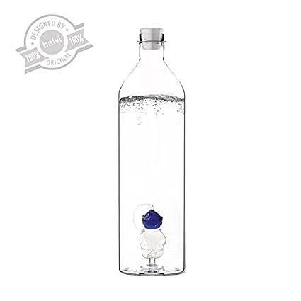 Balvi - Botella Deep Sea 1.2 L borosilicato