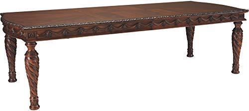 Shore Dining Ashley North - Ashley Furniture Signature Design - North Shore Dining Room Table - Dark Brown