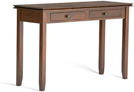 "46"" Medium Stratford Solid Wood Contemporary Console Sofa Table - Wyndenhall"
