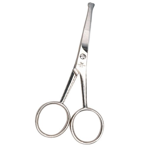 Dubl Duck Stainless Steel Straight Pet Grooming Shears, 4-Inch