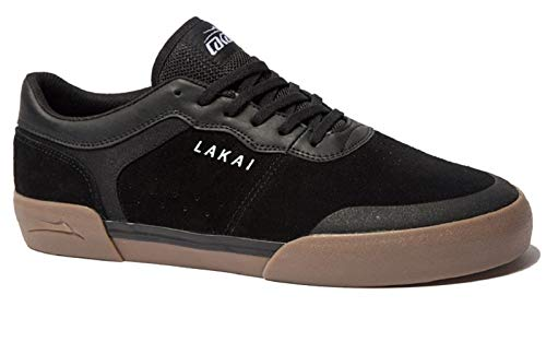 Lakai Staple, Black/Gum, 11.5 ()