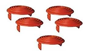 Black and Decker (5 Pack) RC-080-P Replacement Spool Cap for GH1000/GH2000 String Trimmer