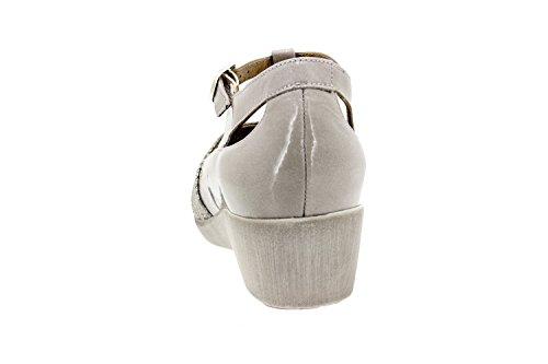herausnehmbaren einlegesohlen bequem Komfort schuhe breit Damenlederschuh 8160 Piesanto wagwFIqX