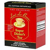 Laci Le Beau Super Dieter's Tea Bags, Original, 60 ea - 2pc