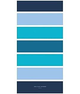 JEAN LOUIS SCHERRER Maxi drap de plage 90x180 cm rayé bleu