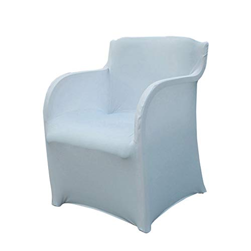 RXIN 2PC Top Selling Armchair Slipcover Spandex Stretch Arm Chair Covers Wedding Party Hotel Home Supplies 73X55CM (Dining Room Arm Chair Covers)