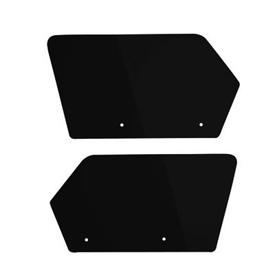 Rear Number Plate (Maier UTV Rear Number Plates Black for Polaris RANGER RZR XP 4 900 2012-2014)