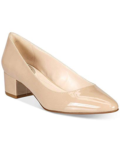 Alfani Womens Daleah Pointed Toe Classic Pumps, Khaki, Size 7.5