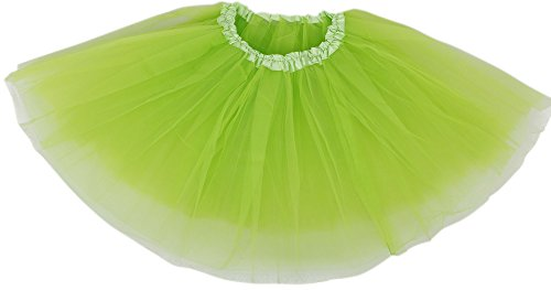 [Women's Tutu for Women Girls 80s Costume Tutu for Party Running & Race,F.Green] (Costume Design Online Classes)