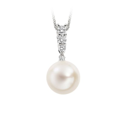 Diamond Manufacturers - Pendentifs Femme avec 4 diamanten - Platine