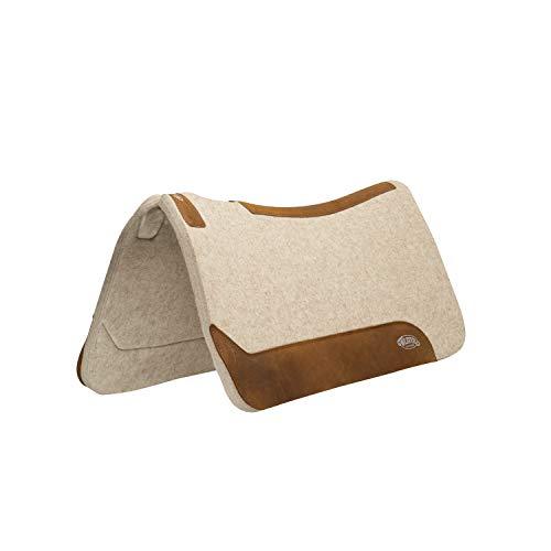 Weaver Leather Contoured Wool Blend Felt Saddle Pad, 3/4″