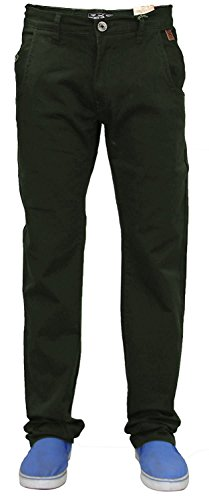 Jeans 36r Uomini Forest Jacksouth Chino Devon Black qvtRZw
