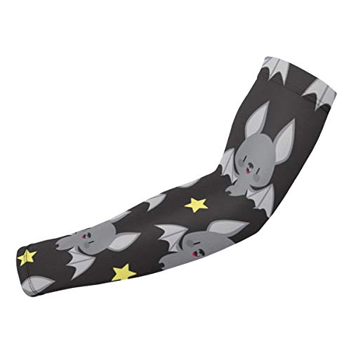 MJIGOYPD Cute Baby Bats Men & Women Compression Arm Sleeves Sun UV Protection Arm Cover for Golf Cycling Driving Running Basketball Football & Outdoor Activities]()