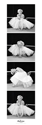Marilyn Monroe Ballerina Vertical Sequence Hollywood Glamour Celebrity Actress Photo Poster 12x36 ()