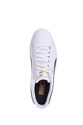 Sneakers Puma Donna Clyde Core Puma Bianco-puma Nero-puma Squadra Oro