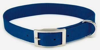C Nyl Collar 3 4 X18  Blue