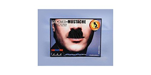 [HMS Adult Charlie Chaplin Synthetic Hair Moustache, Black] (Charlie Chaplin Costumes)