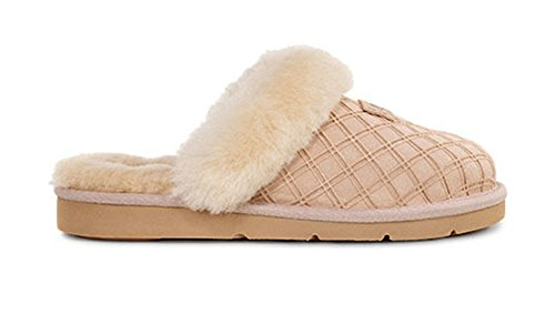 4fa1c006945 UGG Womens Cozy Double Diamond Slipper Freshwater Pearl Size 7