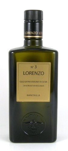 Barbera Lorenzo #3 (2 pack) Organic Extra Virgin DOP Oilive Oil 500ml bottles from Sicily, Italy by (Oil 500 Ml Bottle)