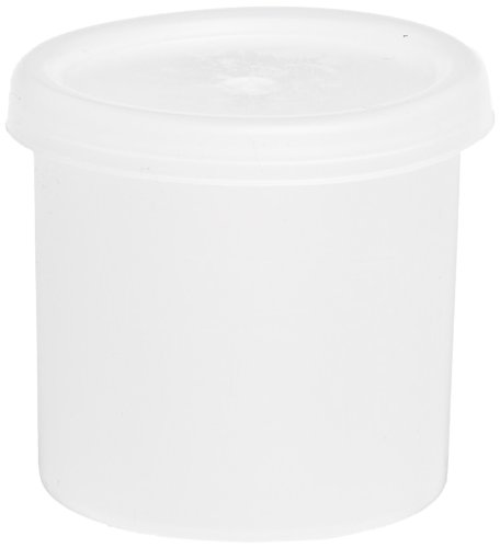 School Specialty - Cubby Ware Paint Storage Containers - 1 Ounce - Pack of 100 - Clear