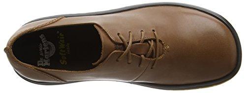 Zapatos Braun Mujer Illusion Lorrie Tan tan Oily Martens Marrón Derby Dr Para De Cordones wqX4Zq