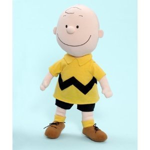 "Madame Alexander 14"" Charlie Brown Cloth Doll Peanuts Collection"