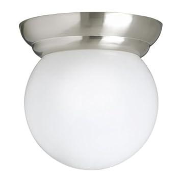 IKEA LILLHOLMEN - Lámpara de techo / pared, niquelado ...