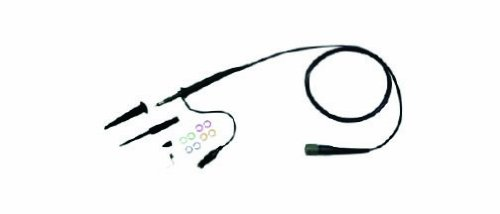GW Instek GTP-100A-4 BNC Male Connector Probe for 100MHz Oscilloscopes ()