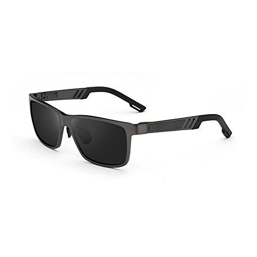 manera Gafas de del sol definición de caballo hombres Gafas de sol de alta sol de la sol de gafas protección montar a la ZHIRONG del de conducción Color C B la polarizadas de los IazwUxx