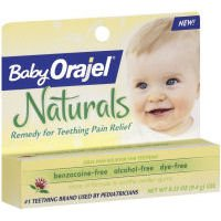 Baby Orajel Remedy For Teething Pain Relief 0.33 oz (9.4 g)