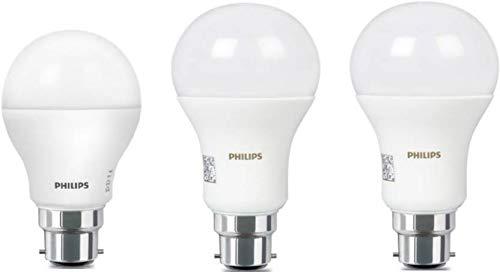 Philips 14 Watt Led Lamp 8 5 Watt Standard B22 Led Bulb 3 Pieces Cool Day White