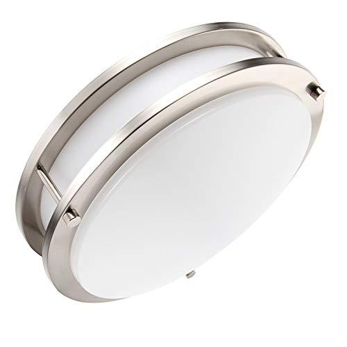 - Lineway Motion Sensor Light LED Flush Mount Ceiling Light Fixture 18W 12