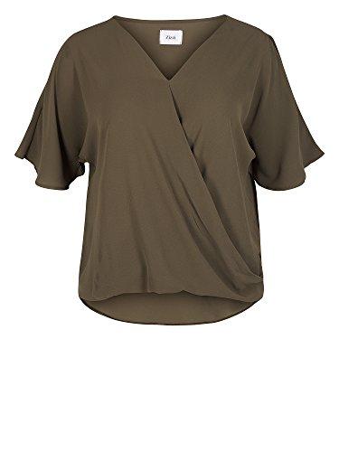Zizzi Camiseta tallas grandes Mujer caqui