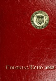 (Reprint) Yearbook: 1968 College of William and Mary Colonial Echo Yearbook Williamsburg - Stores In Williamsburg Va