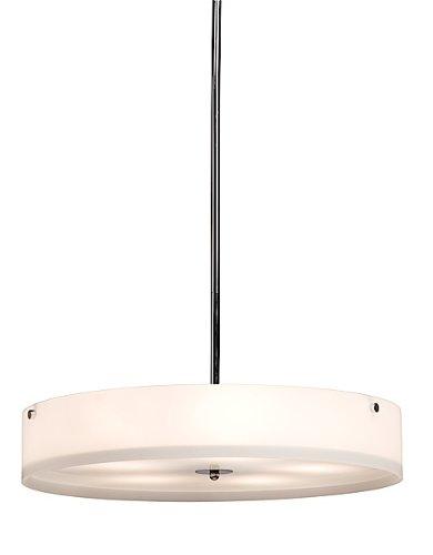 Artcraft Lighting San Deigo 5-Light Rod Pendant Light, Polished Chrome