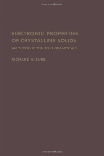 Electronic Properties of Crystalline Solids: An Introduction to Fundamentals