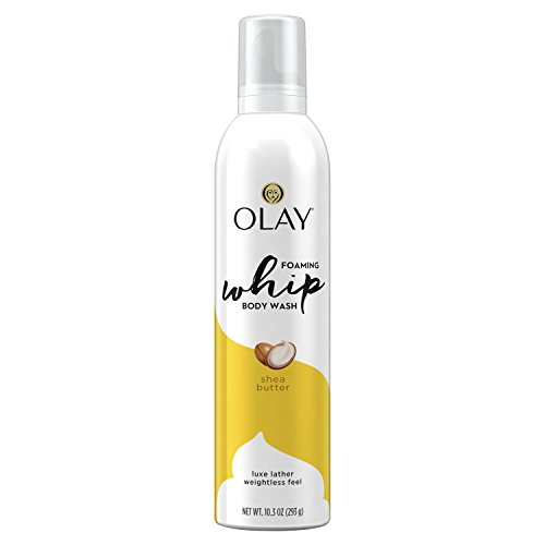 Olay Foaming Whip Shea Butter Body Wash - 10.3oz