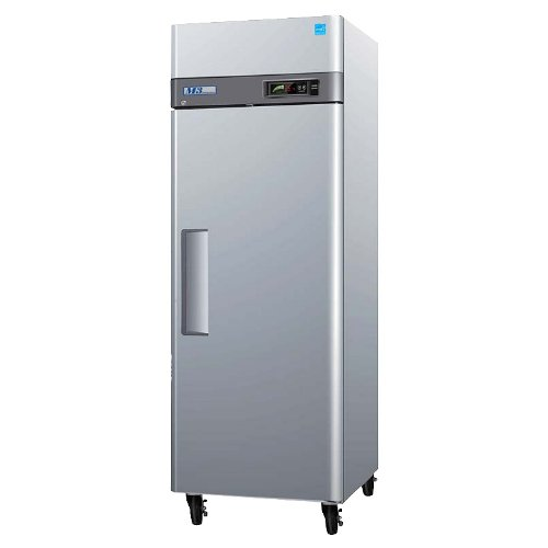 M3R191 20 cu. ft. Capacity M3 Series Refrigerator with 1 Solid Door Digital Temperature Control System Hot Gas Condensate System Efficient Refrigeration System and Stainless Steel Cabinet Construction in Stainless Steel by Turbo Air