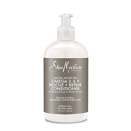 Shea Moisture Sacha Inchi Oil Omega-3-6-9 Rescue & Repair Conditioner for Unisex, 13 - Omega Hair Mask 9