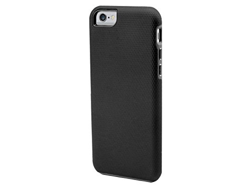Cellet Rubberized DualProtect Series Case for iPhone 6 Plus (5.5) - Retail Packaging - Black