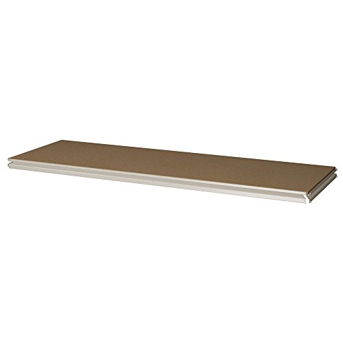 TENNSCO Extra Shelf with Particleboard Deck for TENNSCO Z-Line Medium-Profile Double-Rivet Shelving with Particleboard Decking - 48x18