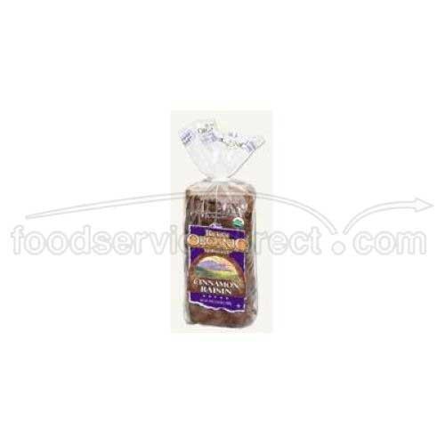 Rudis Organic Cinnamon Raisin Sandwich Bread, 24 Ounce -- 12 per case. by Rudis