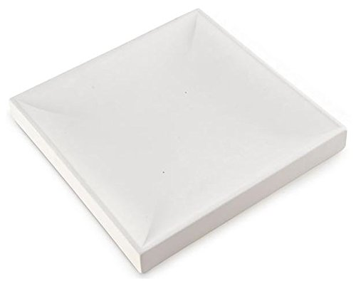 Large Square Nesting Plate - Bullseye Glass Fusible Glass Slumping Mold New Hampshire Craftworks